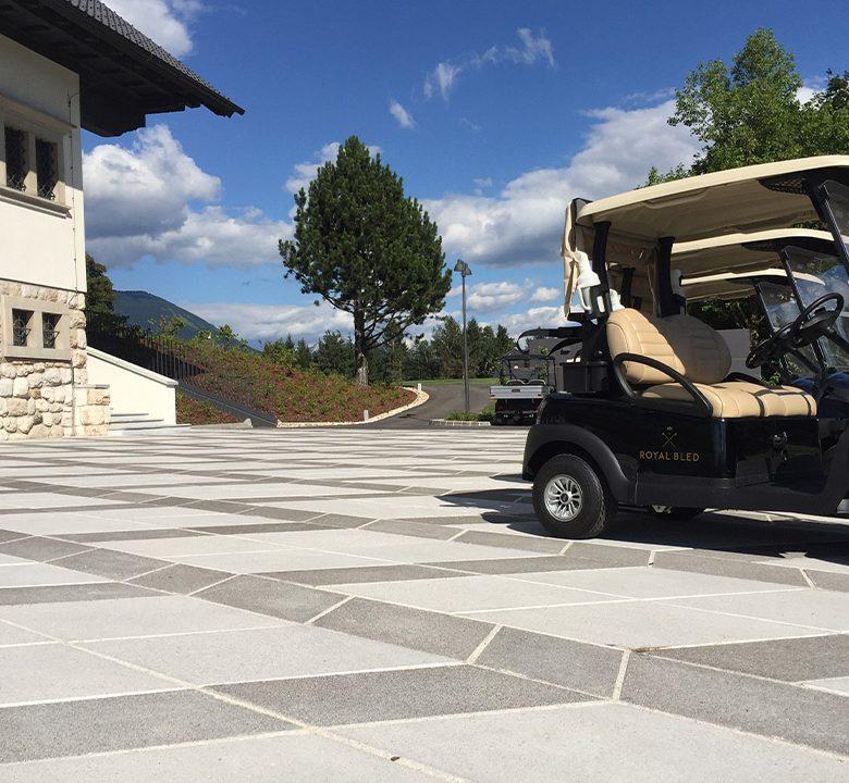 Pohodne plošče Golf Bled